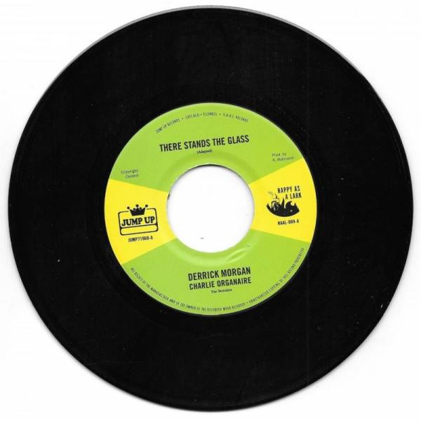 Derrick Morgan - There stands the glass, 7'' schwarz