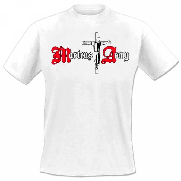 Martens Army - Logo Kreuz, T-Shirt verschiedene Farben