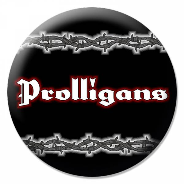 Prolligans - Stacheldraht, Button B090