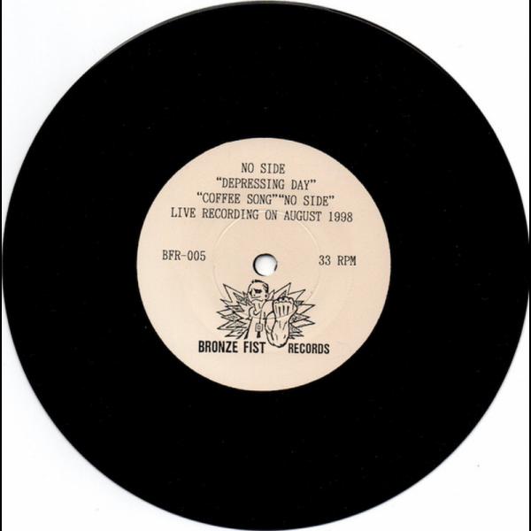 Crikey Crew / No Side – Split, 7'' EP