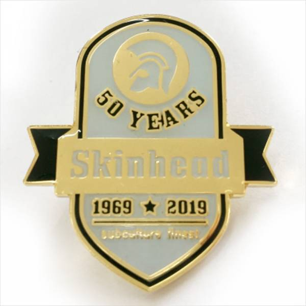 Skinhead - 50 years, Pin