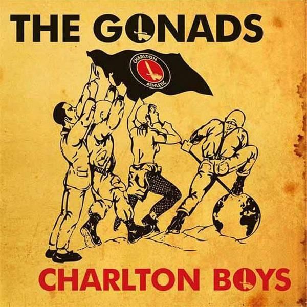 Gonads, The - Charlton Boys, 7'' schwarz