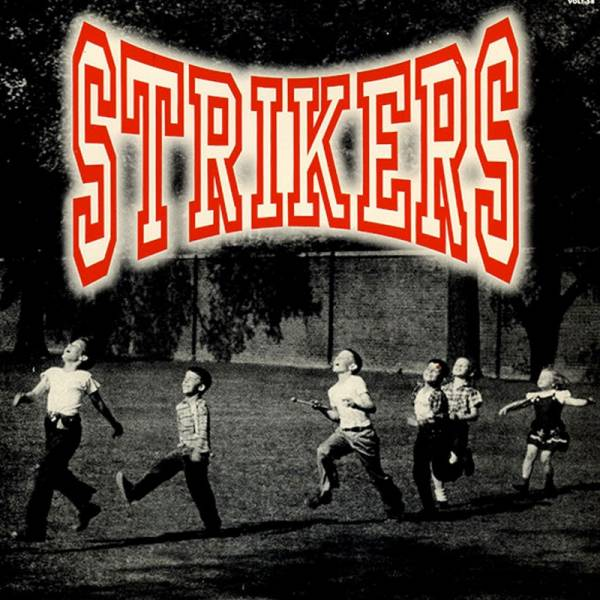 Strikers - Four track, 7'' lim. schwarz Vulture Rock