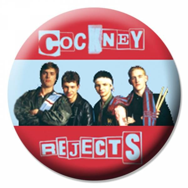 Cockney Rejects - Band, Button B031
