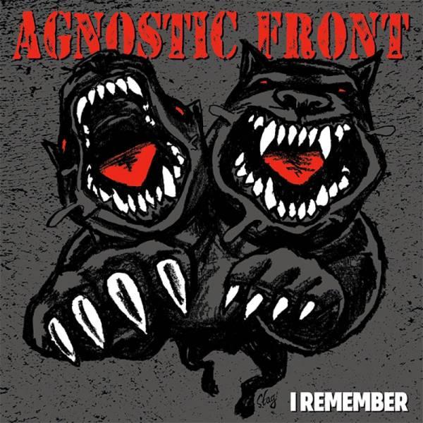 "Agnostic Front - I remember, 7"" grau"