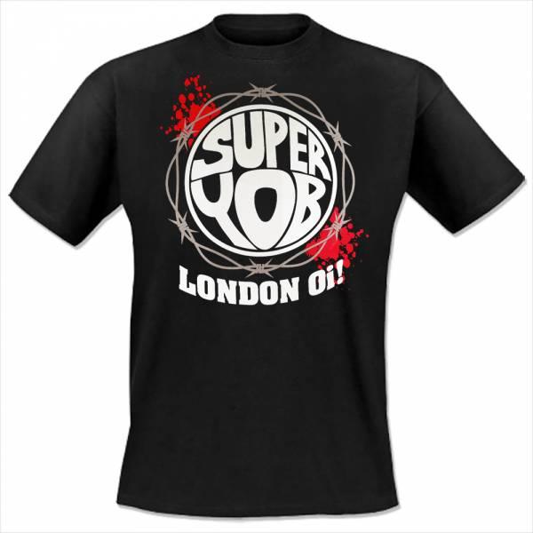 Superyob - London Oi!, T-Shirt, schwarz