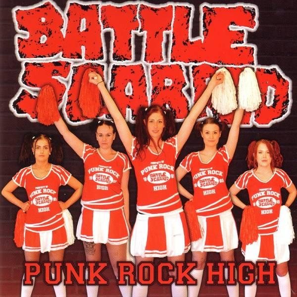 "Battle Scarred - Punk Rock High, 7"" schwarz lim. 500"