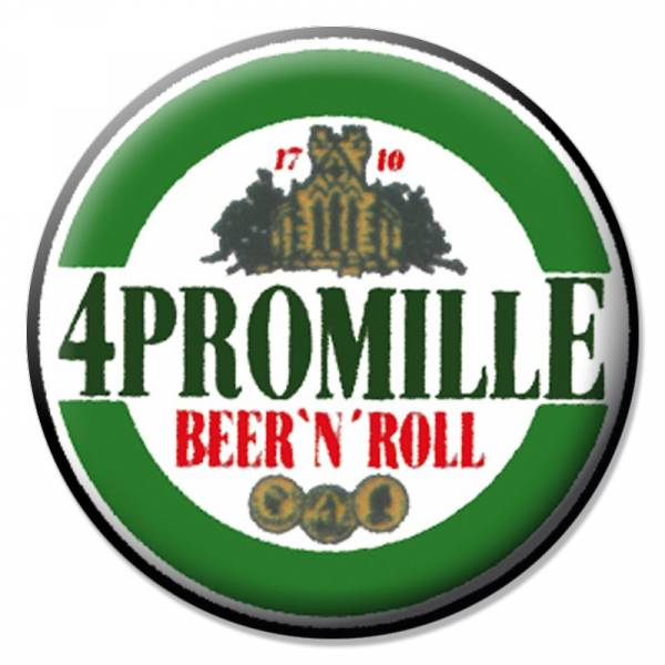 4 Promille - Beer'n Roll, Button B002