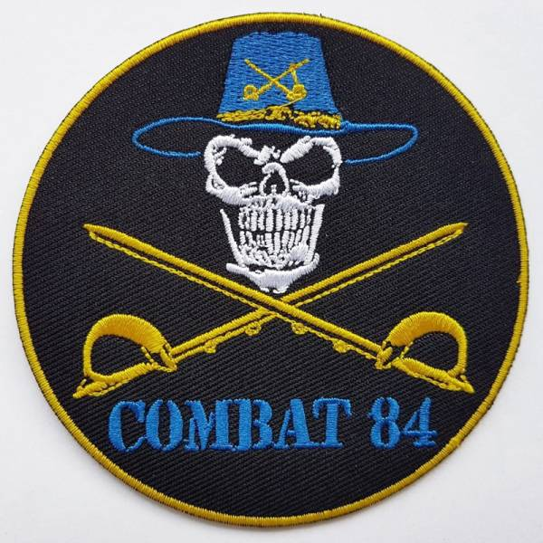 Combat 84 - Charge of the 7th cavalry, Aufnäher