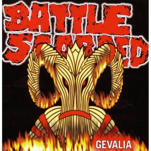 Battle Scarred - Gevalia, CD