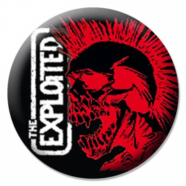 Exploited, the - Logo, Button B047