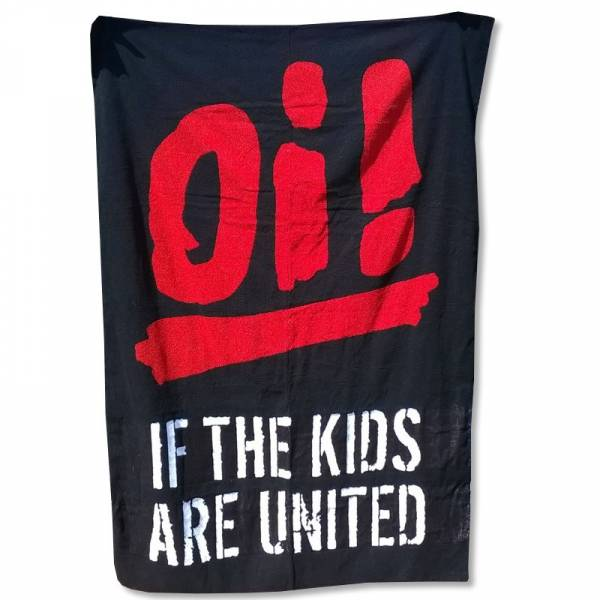 Oi! if the kids are united, Badetuch