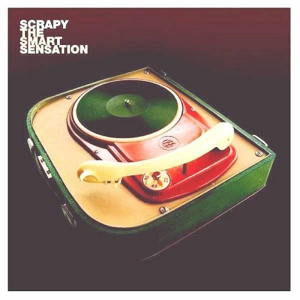 Scrapy - The Smart Sensation, LP schwarz