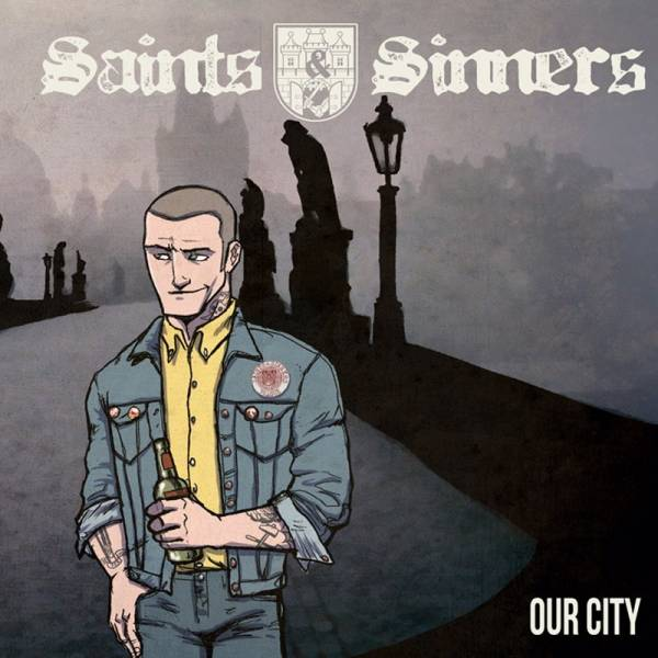 """Saints & Sinners - Our city / My world, 7"""" lim., verschiedene Farben"""