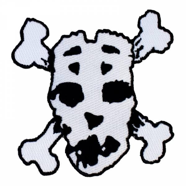 Slapshot - Mask, Aufnäher