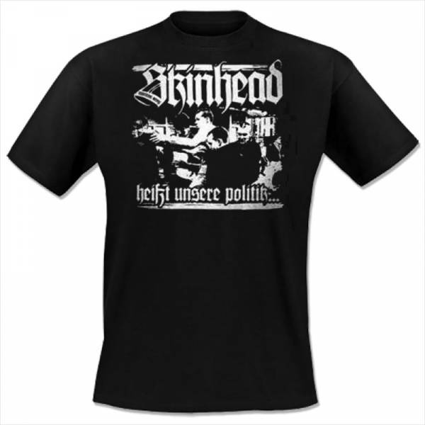 Martens Army - Unsere Politik, T-Shirt schwarz