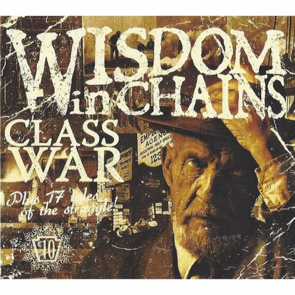 Wisdom In Chains - Class War, CD Digipack