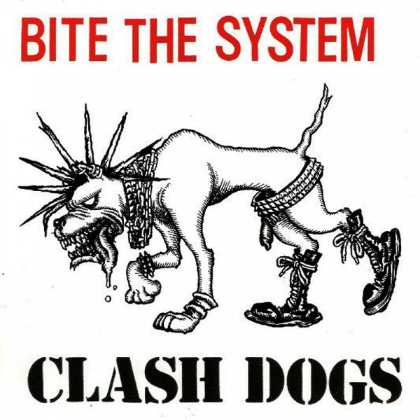 "Clash Dogs - Bite the System, 7"" orange"