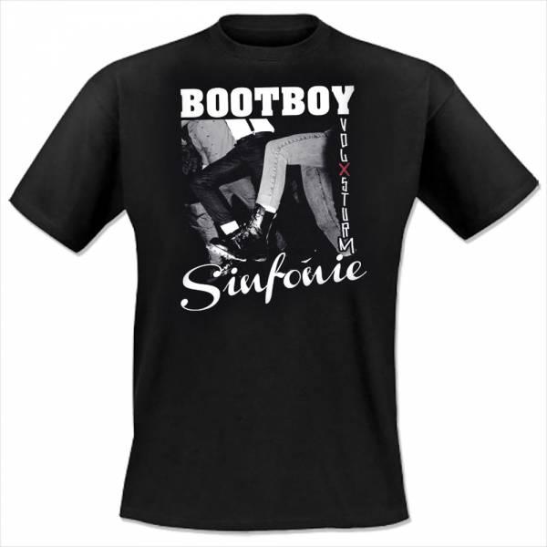 Volxsturm - Bootboy Sinfonie, T-Shirt, schwarz