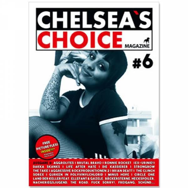 Chelsea's Choice No. 6, Fanzine A4 + FLEXI