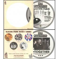 Oppressed, The - Victims/ Work Together, 7'' lim. 500 picture