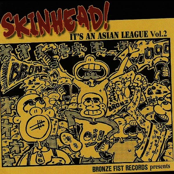 V/A Skinhead - It's an asian league Vol. 2, CD